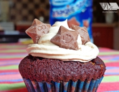 Milky way & magic stars cupcake